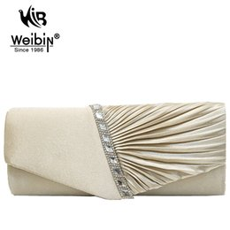 Wholesale diamond prom bags - Wholesale- Luxury Diamonds Women Clutch Bags Evening bag Handbags For Party Prom box Day clutches New Fashion 2016 Ladies Messenger Bags