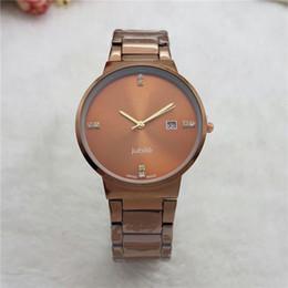 Wholesale Bronze Watches For Women - Menes Watch Stainless Steel Quartz watch women Stopwatch Luxury Watch Top Brand relogies for men relojes Best Gift.