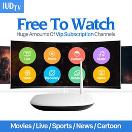Wholesale 8gb Server - Europe Arabic IPTV Apk Server Program Canl Sport 1700 Channels Free Q1304 Iptv Box Arabic Smart Tv Box Quad Core Android