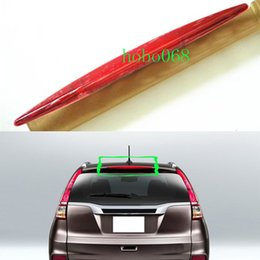 Wholesale Tail Lights Red For Cars - 1x For Honda CR-V 2012-2014 2015-2016 Car White RED Shell Tail lights High Mount 3rd Stoplight