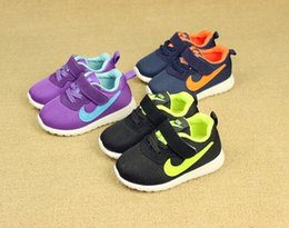 Wholesale Hook Buckle Price - lowest price!Autumn 2016 Baby First Walkers children's sports shoes mesh shoes girl boy running shoes,size 21-30