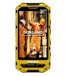 Wholesale Rugged Android - DORLAND Multi 10 Explosion-proof IP68 Rugged mobile phone,Intrinsically Safe For Oil & Gas Industry and Hazardous Areas, Waterproof Dustproo
