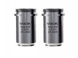 Wholesale Smok Dual Coils - Smok Stick Aio Coil Head 0.23ohm Dual Coil 25-45w Improved E-Juice Wicking Holes 100% Original Smok Replacement Coil