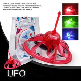 Sensori di galleggiamento online-IR induzione UFO LED Elicottero galleggiante Flying sensore a infrarossi in bilico Quadcopter Drone giocattoli volanti per bambini C2451