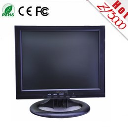 Wholesale Led Touch Monitor - new wholesale 12 inch 4:3 1024*768 LED touch screen monitor have DVI VGA USB input for PC ,warranty 1 year