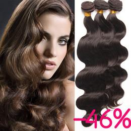Wholesale Dark Auburn Wavy Hair Extensions - Fashionkey Color light Brown Bark Brown Honey Blonde Synthetic Hair Weave Bundles Body Wave Hair Extensions Blonde Wavy No Shedding SF104
