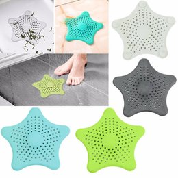 Wholesale Accessories For Bathrooms - Silicone Suckers Kitchen Bathroom Sink Accessories For Bathroom Sucker Sink Filter Sewer Hair Colanders Strainers Filter
