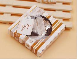 Wholesale Owl Metals - The new arrivel owl shape beer bottle opener Cute animal metal opener Wedding supplies gift box packing
