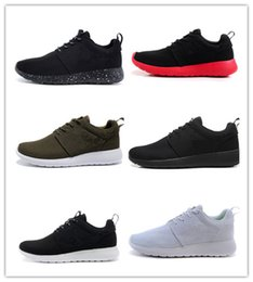 Wholesale Boots Size 44 - Cheap sale Classical Run Running Shoes men women black low boots Lightweight Breathable London Olympic Sports Sneakers Trainers size 36-44