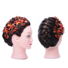 Wholesale Training Heads For Hairdressing - 100% human hair mannequin training head for hairdressing salon school
