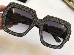 Wholesale Brand Inspired - Women Oversize square-frame rhinestone 0048S Sunglasses Designer Inspired 0048S Sunglasses Brand New with box