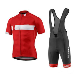 Wholesale Giant Cycling Jersey White - 2016 Giant Team Pro Bicycle Cycling Clothing  Cycle Clothes Wear Ropa Ciclismo Sportswear Mans Racing Mountain Bike Cycling Jerseys