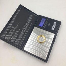 Wholesale Diamond Weighing Scales - 200g x 0.01g Mini Digital Scale LCD Electronic Capacity Balance Diamond Jewelry Weight Weighing Pocket Scales