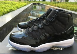 Wholesale Retro Photo Boxes - AAA Top Quality Space Jam Air Retro 11 Concord Bred Gamma Basketball Shoes retro 11s sneakers Men Size With Box all same photo