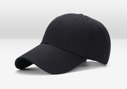 Wholesale New Women Fashion Cool - 2017 Cool Style ! New Fashion Tide Caps Baseball Cap Hip-hop Hats For Men Women Fitted Hat Black White Red