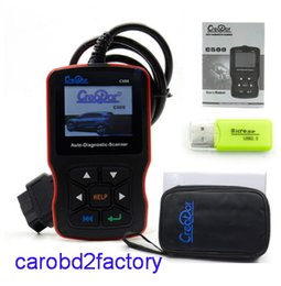 Wholesale Honda Cost - 2017 New arrival----High Quality Creator C500 Code Reader Scanner for OBDII For BMWFor Honda For Acura with DHL Free Shipping cost