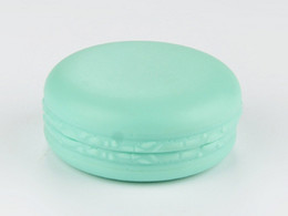 Wholesale Personal Candy - Hot sale Candy color Macaron cosmetic empty Lipstick lip balm container macaron sub-bottling DIY lip gloss box