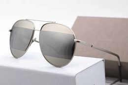 Wholesale Plain Sunglasses - Sunglasses Woman Brand designer glasses new fashion eyewear original box luxury famous high quality ocolus de sol point shades