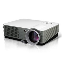 Wholesale Cheap Tv Projectors - Wholesale- New Home Theater Digital 2HDMI 2USB SVGA HD Video Multimedia Portable Led TV Projector long life lamp 50,000hrs cheap price