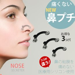 Wholesale Nose Up Lifting - 100sets (3pairs set) 3D Nose Secteter High Increased The Nose Stealth , Nose Up Shaping Shaper Lifting Facial Beauty Tool