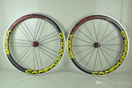 Wholesale Bora G3 - Road Bicycle Clincher Bora Ultra Two Carbon G3 Wheelset Alloy brake Complete Carbon Road Bike Wheels