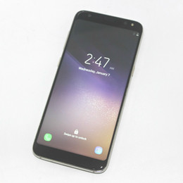Wholesale Wholesale Indonesia - 5.8 Inch Full Screen Goophone S8 Quad Core MTK6580 Android 7.0 1280*720 HD 8MP 3G WCDMA Show 64GB 4GB Smartphone