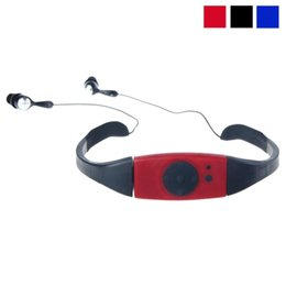 Wholesale Mp3 For Swimming - Wholesale- Factory Price Binmer New Hot Selling Good Quality Fashion 4G 4GB Waterproof MP3 Music Player for Swimming SPA Drop Shipping
