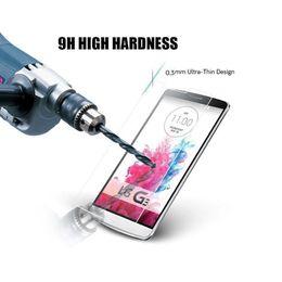 Wholesale Lg Spirit Glass - For LG spirit Magna G Flex 2 Optimus Zone 3 Joy H220 G4 stylus LV3 LV5 K4 2017 K8 2017 9H Premium 2.5D Tempered Glass Screen Protector 200P