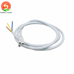 Wholesale Long Led Lights - T5 T8 LED tube light Connector Cable 3ft 0.9M longer pigtail For Integrated Led Tube Power Cable