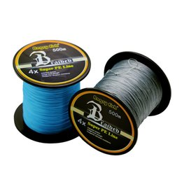 Wholesale Braid Fire - 2017High-quality 500M SUPER Strong 4xSpuer PE Line Fishing Braid Lines 10-110LB Braided Multifilament fishing Kite line Manufacturers supply