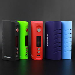 Wholesale Voltage Control - Authentic DOVPO Punisher 80 TC Box Mod Temp Control 80W Mini Box Mod Low Voltage Protection Fit 510 Atomizer DHL Free