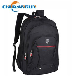 Wholesale Swiss Army Backpacks - Wholesale- Chuwanglin Swiss army knife 15 inch backpack laptop backpack school bags for teenagers travel bag women and men backpack QG03209