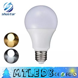 Wholesale Smd Bulb Watt - E27 3W 5W 7W 9W 12W 220V 110V Real Watt LED Bulb Light SMD5730 Fast Heat Dissipation High Bright Lampada LED Lamps