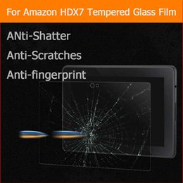 """Wholesale Kindle Fire Glass - Wholesale- Premium Anti-shatter tempered glass film For Amazon Kindle Fire HDX 7 HDX7 7.0"""" tablet LCD Screen Protector Film"""
