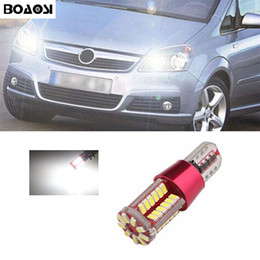 Wholesale D H Wholesalers - BOAOSI Car Canbus LED T10 W5W Clearance Parking Light Wedge Lights For Opel Astra h j g Corsa Zafira Insignia Vectra b c d