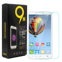 Wholesale Screen For Alcatel - For Alcatel Fierce 4 Tempered Glass Screen Protector Film 2.5D Explosion Shatter Screen Protector For Zmax Pro Z981 HTC 530 Retail Package