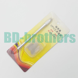 Wholesale Wholesale Nand - IC Chip Repair Thin Blade Tool CPU Remover Burin To Remove iPhone Processors NAND Flash From Mainboard For BGA A5 A6 A7 A8 A9 100set lot