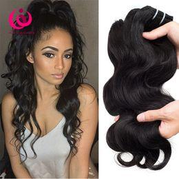 Wholesale Virign Peruvian Hair - Free Shipping Cambodian Body Wave Hair Weave Bundles Wow Queen Hair Cheap Wholesale Price Unprocessed Cambodian Virign Human Hair Extensions