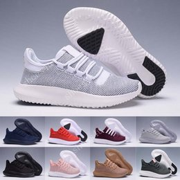 Wholesale Shadow Box Lighting - 2017 Cheap Tubular Shadow Knit 350 Boost Sneakers Training Shoes tubular shadow knit Kanye West Boots,Send With Box
