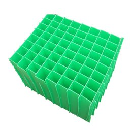 Wholesale Uv Sheets - New product China supplier quality wholesale custom recycle pp plastic sheet box card corrugated divider seperator for bottle egg wine ship