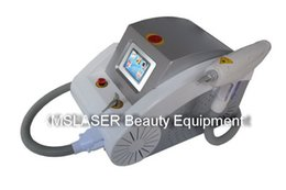 Wholesale Grey Lifts - Red and grey two colors2000MJ Touch screen 1000w Q switched nd yag laser beauty machine tattoo removal Scar Acne removal 1320nm 1064nm 532nm