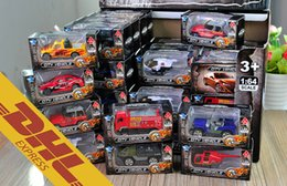 Wholesale 48pcs Metal Diecast Cars Plane SWAT Firefighting Trucks Helicopter Police Ambulance Fire Military Trucks Car Die Cast City Vehicle