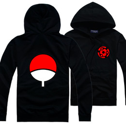 Wholesale uchiha coat - Anime Naruto Kakashi sasuke uchiha itachi long-sleeved men women spring autumn coat spot cartoon spring autumn hoodies fashion vestidos