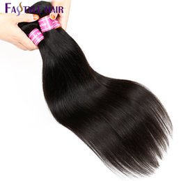 Wholesale China Hair Pieces - Popular Items Virgin Straight Weave Remy Human Hair Extensions Mink Brazilian Hair Bundles 6 pieces Unprocessed Hair Weaving Made in China