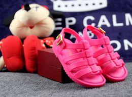 Wholesale Girls Roman Sandals - New Mini Brazil Roman Sandals Boys Girls Sandals Flox Jelly Shoes Sandals Children'S Shoes Roman Hollow Breathable