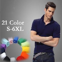Wholesale Black Brown Khaki Coat - Free shipping 2016 new high quality summer heat sale polo shirt American brand Polos Men short-sleeved 100% cotton sport Men's coat S-4XL