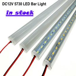 nave veloce DC 12V 50 cm angolo parete LED barra luminosa a led striscia luminosa ad alta luminosità smd 5730 tavolo scrivania luce rigida strisce a LED illuminazione da