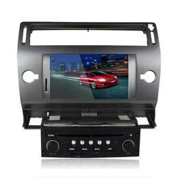 Wholesale Auto Navigation Radios - autoradio CITROEN C4 CAR DVD player GPS Navigation BLUETOOTH AUTO RADIO IPOD RDS SWC 2004- 2009 -2012
