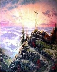 Wholesale Landscape Lighting Paintings - Framed SUNRISE A Prayer of Hope For The millennium of Light,Thomas Kinkade Oil Painting On Canvas,HD Print Wall Art, Various sizes,Pr082