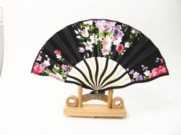 Wholesale Gold Hand Fans - Wedding ladies feast hand style special color painting a variety of colors hot products by ladies favorite